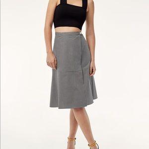 Babaton checkered skirt